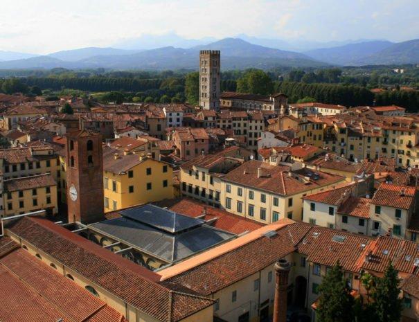 Via Francigena a Lucca