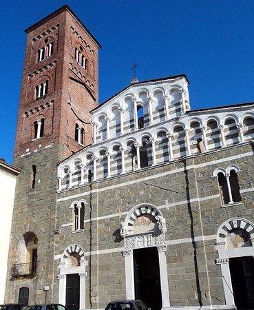 La facciata della Chiesa di San Pietro Somaldi