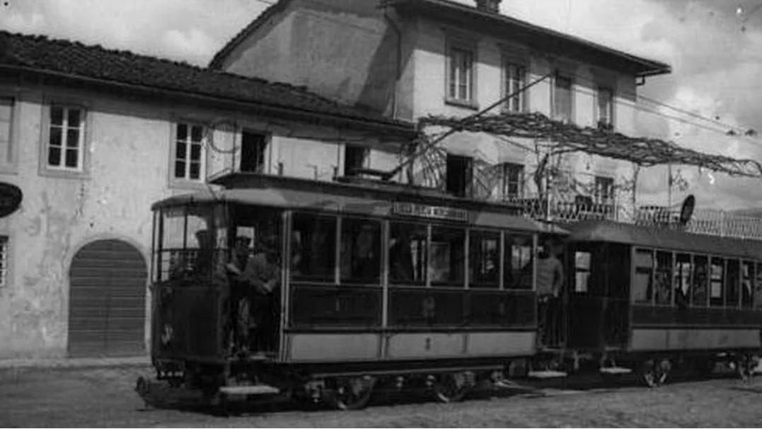Tram a Lucca