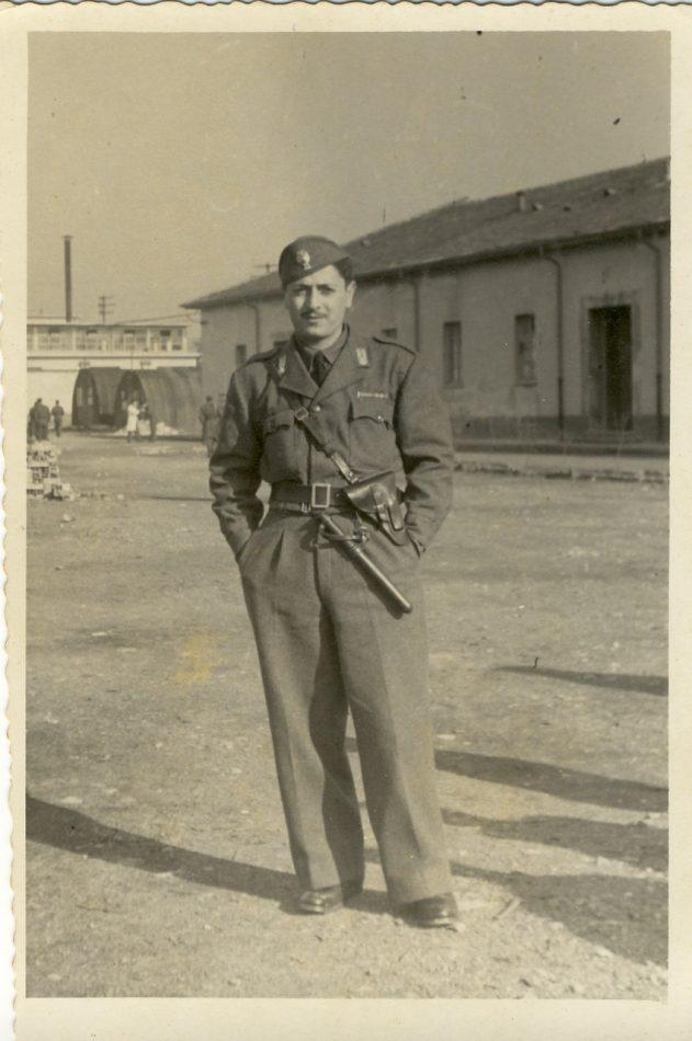 Babbo a MIlano primi anni 50