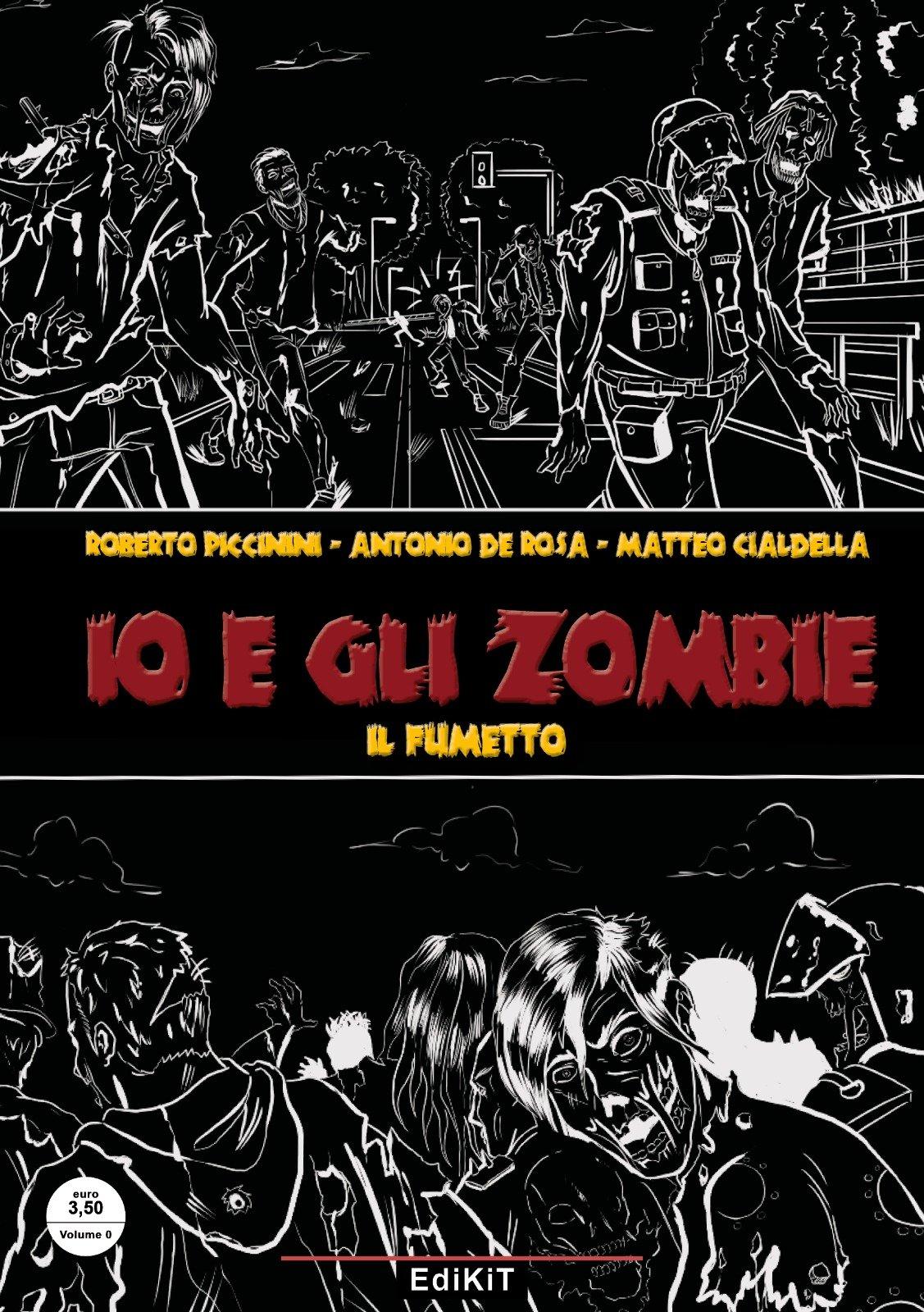Io e gli Zombie, il fumetto