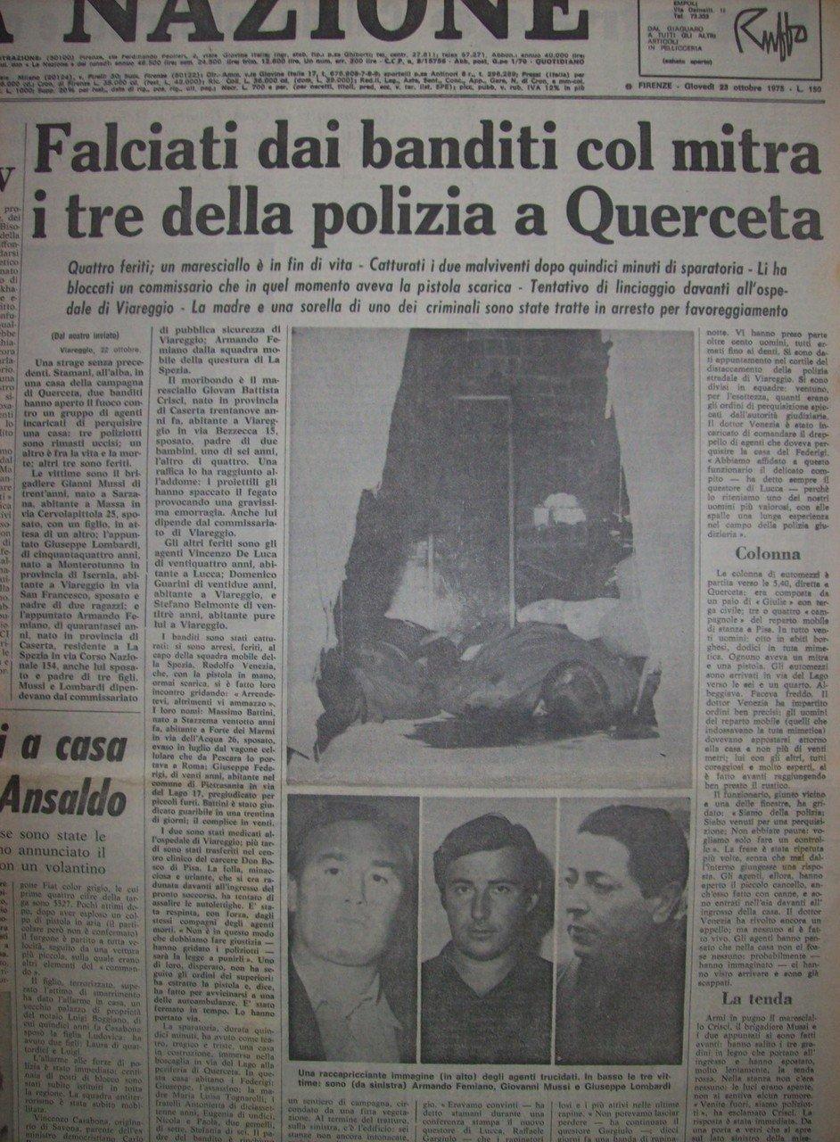La Nazione 23/10/1975