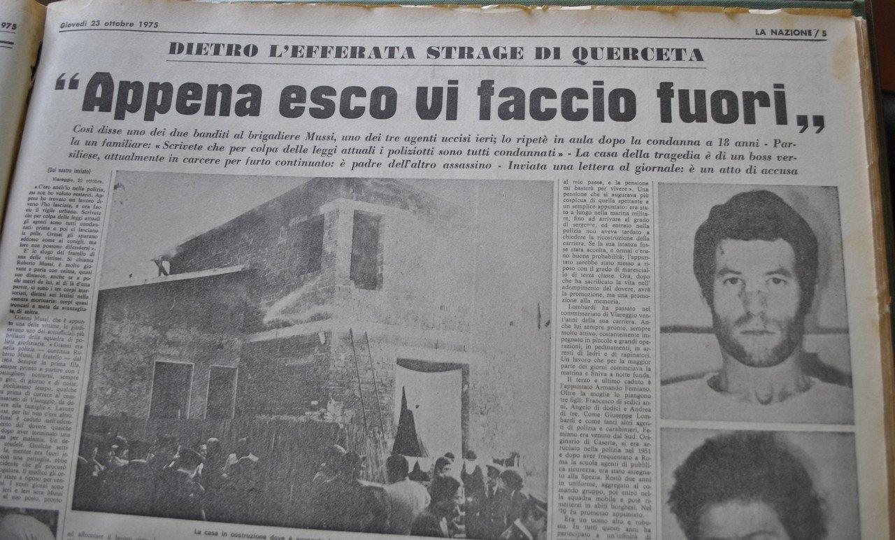 La Nazione nov. 1975