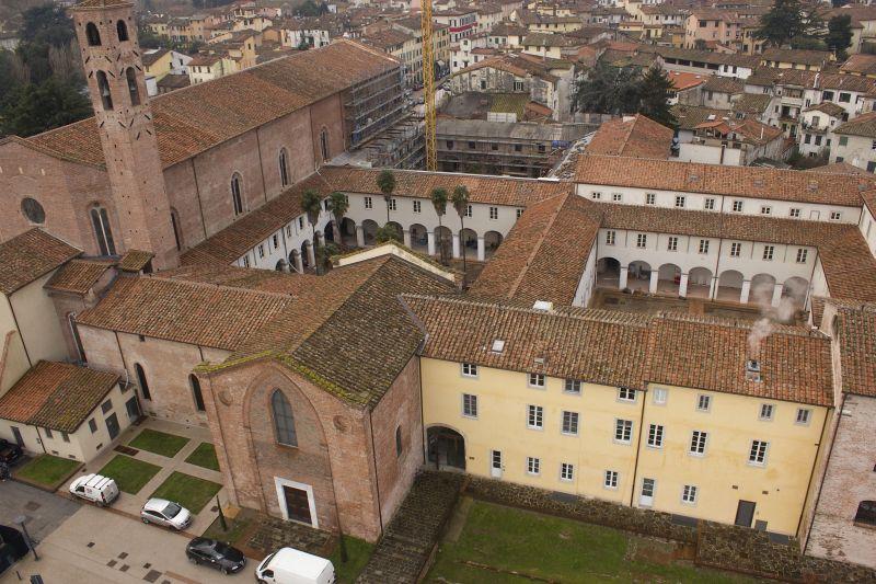 La sede dell'IMT vista dall'alto