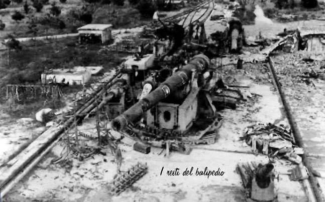 Il Balipedio di Viareggio distrutto