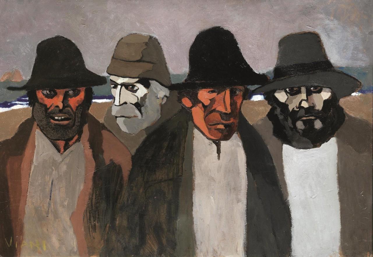 Vecchi pescatori, Lorenzo Viani