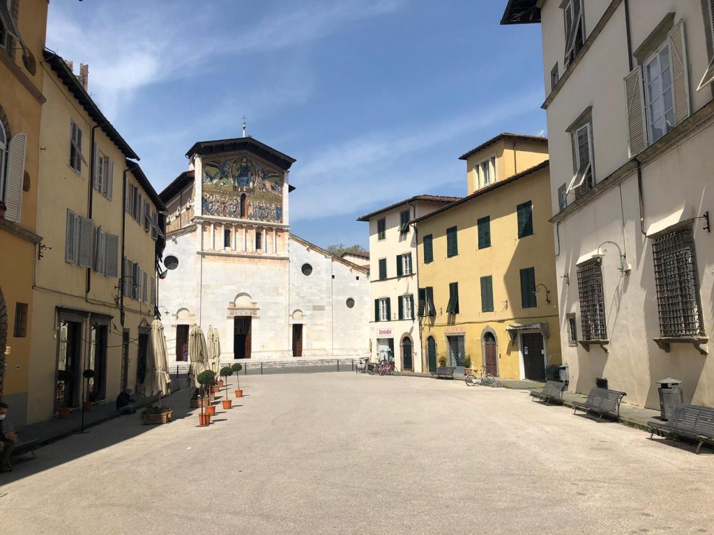 Lucca in quarantena