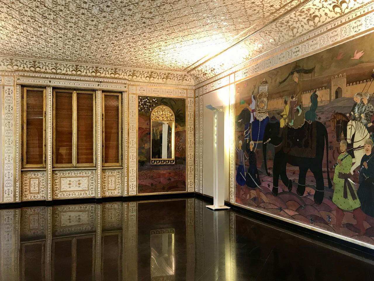 Villa Argentina, salone delle feste