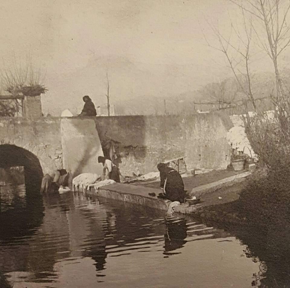 Antico lavatorio a Viareggio