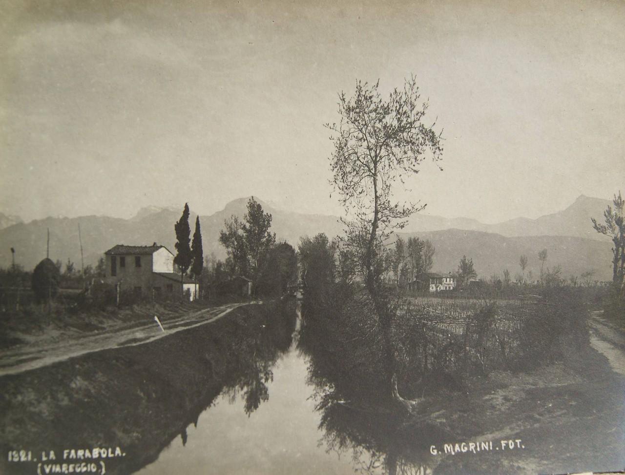 Il Fosso Farabola nel 1921