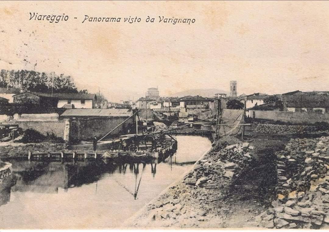 Il quartiere Varignano in una foto d'epoca