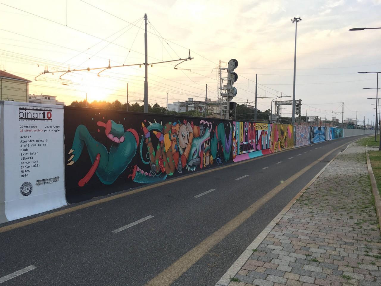 Via Ponchielli, il progetto Binario 10