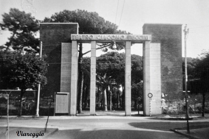 Il teatro all'aperto Giacomo Puccini nel Dopoguerra