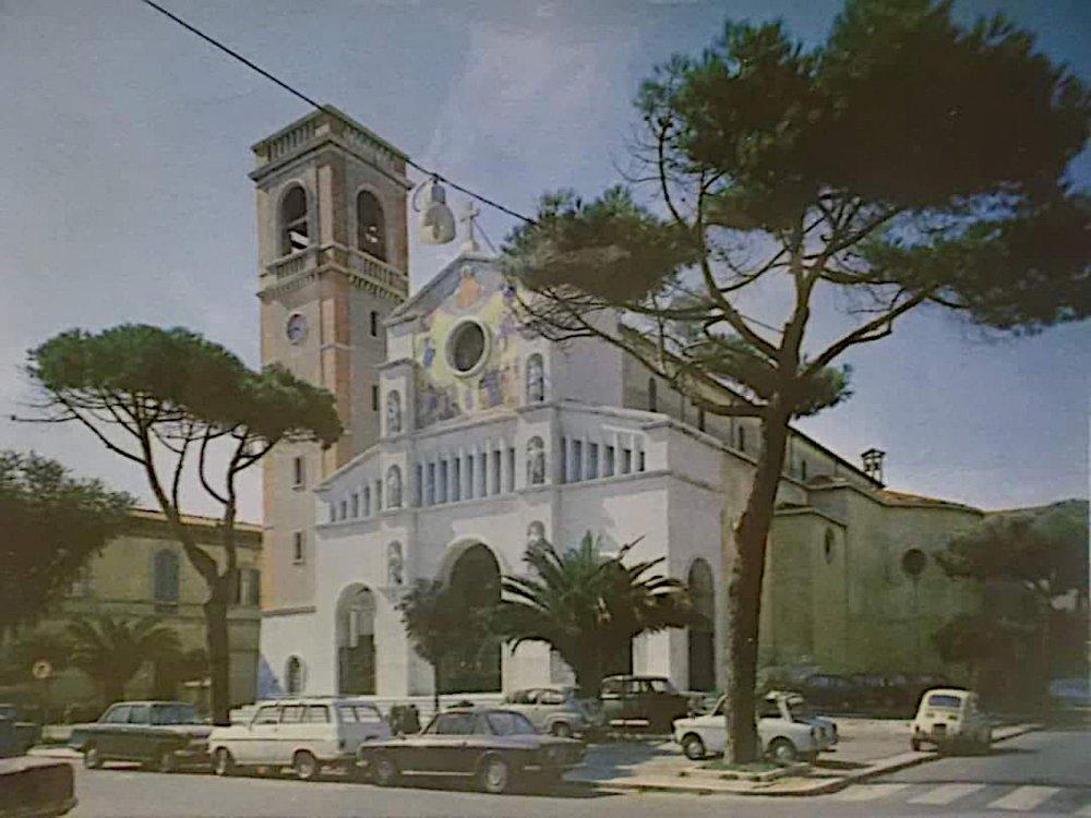 La Chiesa di San Paolino nel 1960