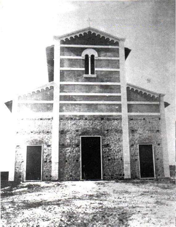 La facciata originale della Chisa di San Paolino (1896)