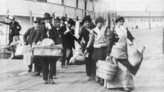 Emigranti italiani in America